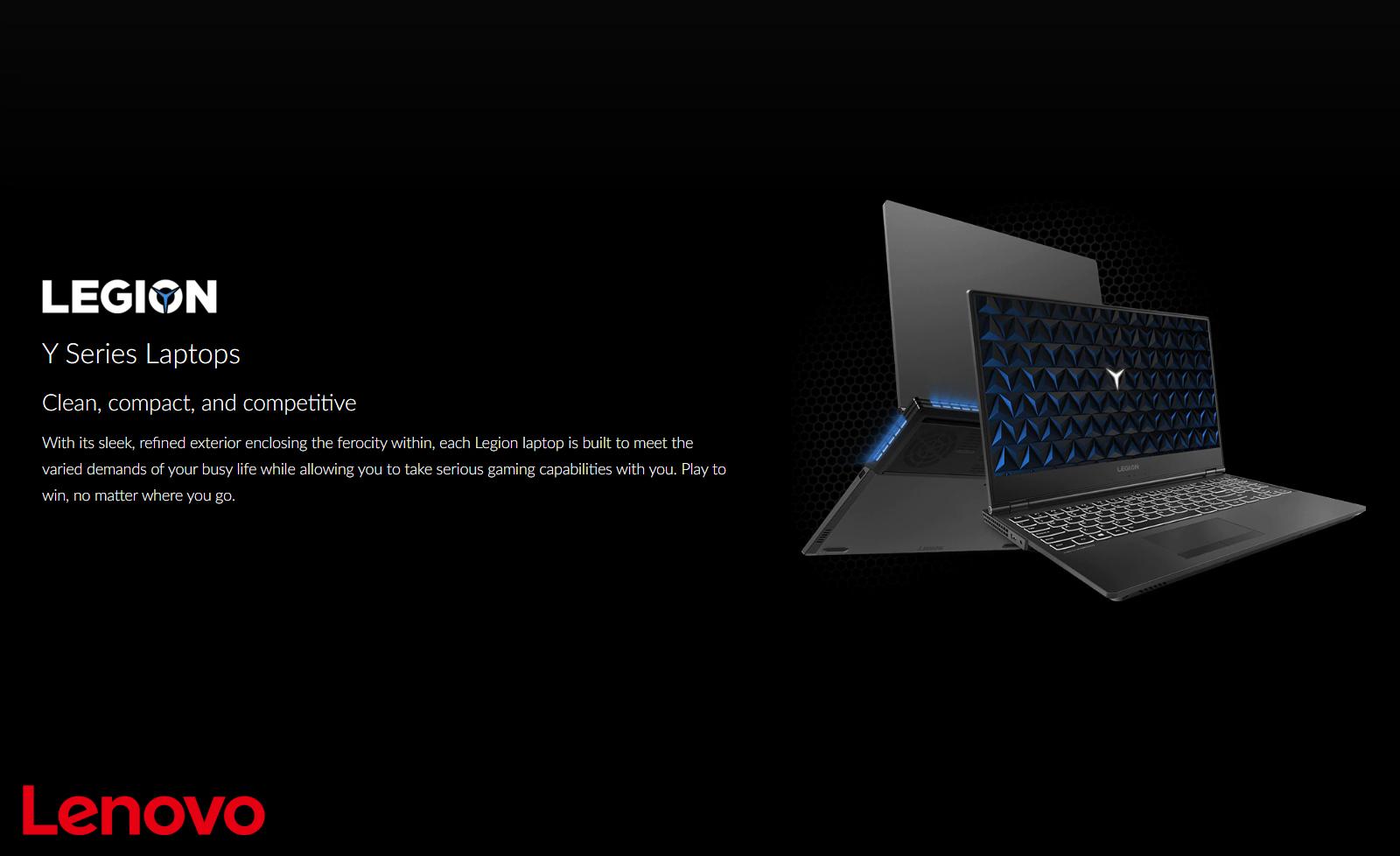 Lenovo Y Series Gaming Laptops