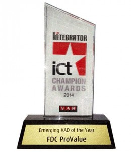 Emerging VAD of the Year FDC ProValue 2014