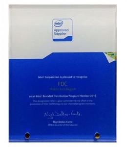 FDC Intel Branded Distribution Middle East Region