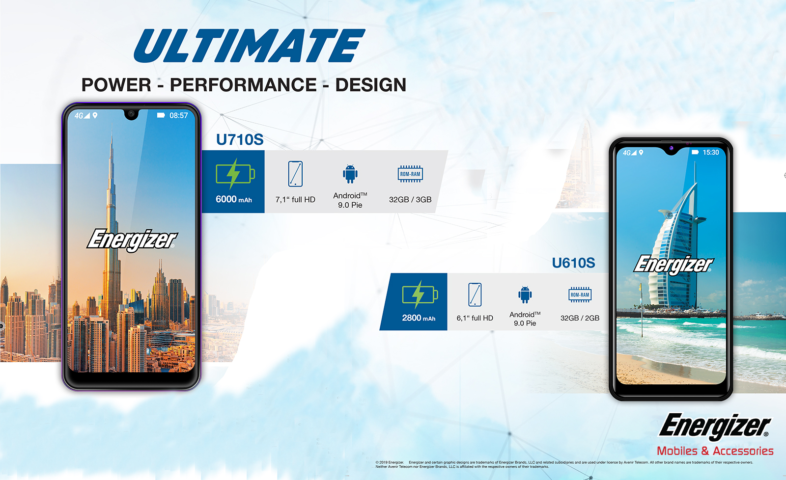 Energizer Ultimate Phones