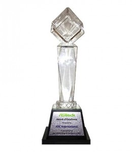 Asrock Award of Excellence presented to FDC - 2013