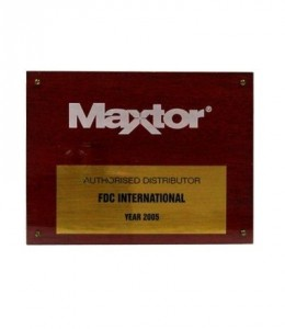 Maxtor Authorized Distributor 2005