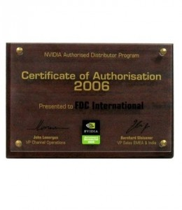 NVIDIA Authorized Distributor 2006