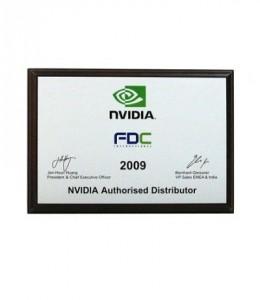 Nvidia Authorized Distributor 2009