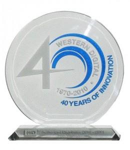 WD Authorized distributor 2010-2011