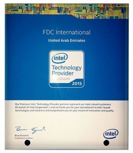 intel Platinum Technology Provider 2015