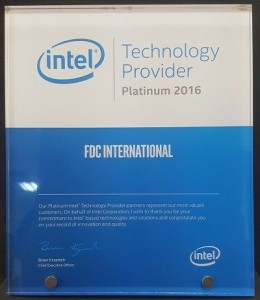 intel Platinum Technology Provider 2016