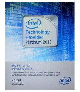 intel Technology Provider Platinum 2012